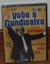 VOTA A GUNDISALVO - DVD - NUEVO - PRECINTADO - CIME ESPAÑOL - COMEDIA