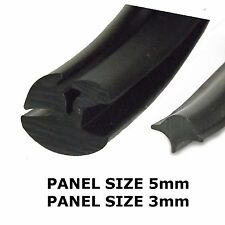 Rubber Window Seal (Claytonrite)  4.8mm x 3mm with filler strip