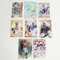 90s Tampa Bay Buccaneers Bucs Autographed Cards Lot Rookie- Barber, Dunn, Brooks