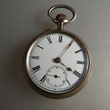 Di alta qualità Uomo Orologio da tasca MERMOD FRERES Argento per 1900 (47103)
