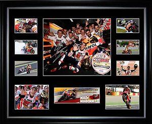 Marc Marquez 2016 MotoGP Champion Signed Framed Memorabilia