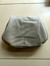 NOS Holden HSV WH Grange Front Headrest Seat Trims Covers Beige Leather