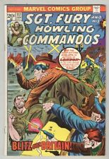 Sgt. Fury and His Howling Commandos #117 January 1974 VG