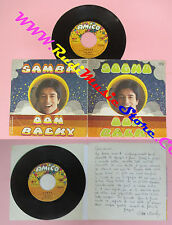LP 45 7'' DON BACKY Sogno Samba italy AMICO D.B. 002 no cd mc dvd