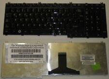 KEYBOARD QWERTZ GERMAN TOSHIBA P300 series MP-06876D0-9204 Shiny Black