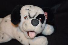 "Disney Licenesed Lucky 101 Dalmations Soft Plush Stuffed Puppy Dog 13"" Bean Tush"