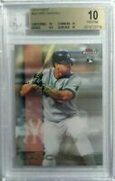 Gary Sanchez 2016 Topps Finest #64 BGS 10 Pristine Yankees Hot! RC! HOT RC