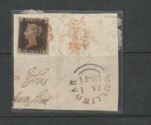 Great Britain - Penny Black - Queen Victoria.