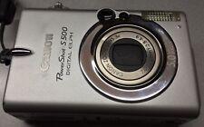 Canon PowerShot Digital ELPH S500 / Digital IXUS 500 5.0MP Digital Camera
