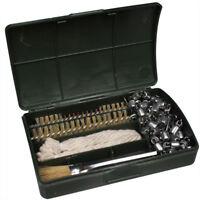 MFH Waffen Reinigungsset mit Kette Bürsten Dochte und Pinsel inkl. Kunststoffbox