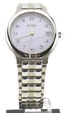 Medana, 3 bar water resist, reloj Hombre, acero carcasa, reloj de cuarzo