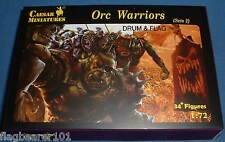 CAESAR FANTASY 109 ORCS Set #2. ORC WARRIORS. 1/72 Scale Plastic Figures x 34