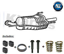 Vauxhall Astra Mk 4 G 1.8 2.2 00-06 Klarius Rear Exhaust + Fittings - GM421H
