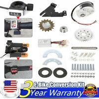 Electric Conversion Kit 250W 24V for Common Bike Left Chain Drive Custom US NEW