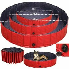 More details for portable pet bath dog swimming pool foldable bath paddling pool puppy bathtub