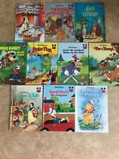 10 x Walt Disney Classic Books Hardback Covers