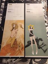 Ashley Wood 3A ThreeA Comic Con Tour 2002 Large Poster Set Popbot 12x36