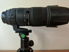 Nikon Sigma 70-200mm f2.8 Ex HSM Macro II