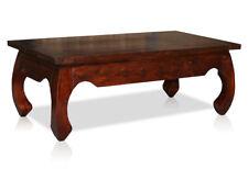 KMH® Opiumtisch 110 x 60 cm Tisch Couchtisch Coffeetable Sheesham Holz braun
