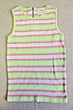Seed Girls Singlet Size 5-6 Zip on Back of Neck