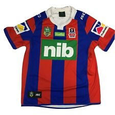 Vintage Newcastle Knights Canterbury Rugby Jersey Shirt NRL XL Mens Adult 2004