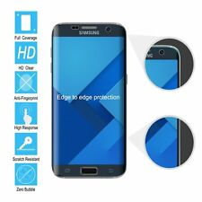 Samsung Galaxy S7 Edge 3D Full Screen Protector Ultra Clear TPU Film guard Front
