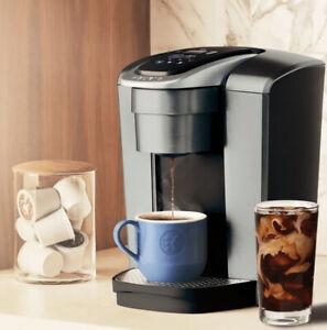 Keurig K-Elite Brushed Silver Single Serve Coffee Maker