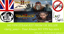Warlock 2 + Wrath of the Nagas Steam key no VPN Region Free UK Verkäufer