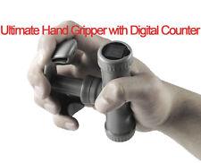 UK Warrior Hand Grip Digital Counter Forearm Strengthener Gripper Exerciser