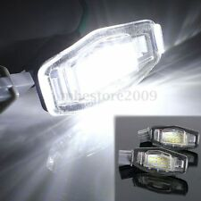 2x Led License Plate Light For Acura TSX TL RL LX Mdx Honda Civic Accord Odyssey