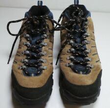 reputable site 8b1b3 ba05c Reebok Brown Blue Leather Hiking Shoes Sneakers Size 9 1 2 Casual Shoes