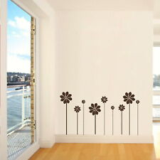 Set Of Flower Wall Sticker / Giant Wall Decal / Large Floral Wall Transfer FL36