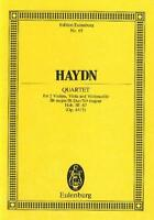 Haydn: String Quartet in Bb Major Hob. III 67  Major Op.64/3 ETP65