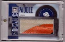 GARTH SNOW 13/14 ITG StickWork Game-Used Paddle Stick  P-18 SP /14 RARE 3-color