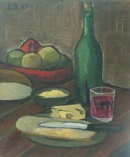 Emile DEHAYES (1920-?) HsT 1971 / Ecole belge / Expressionnisme Expressionism