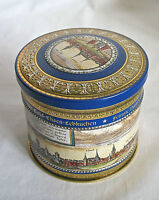 Gottfried Wicklein collectible cookie tin box 7oz canister Germany empty 2003