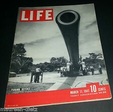 March 17, 1941 LIFE Magazine COKE Ad add ads adds 40s FREE SHIPPING 3 '41 18 19