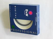 Filtre UV 72 mm photo video numerique neuf fabr. Europe
