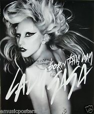 "LADY GAGA ""BORN THIS WAY"" PROMO POSTER FROM THAILAND - Pop, Dance, Electronic"