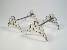 Vintage Silver Plate Carving Set/Knife Rests - United Kingdom - Mid 20th Century