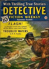 DETECTIVE FICTION WEEKLY. April, 1940. Vol. 116, No. 1.