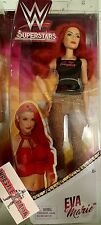 WWE Barbie Eva Marie Fashion Superstars Wrestling Figure Doll Rare Women diva