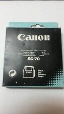 Genuine Canon SC-70  Black Correctable Film Ribbon Cassette.       Steal!