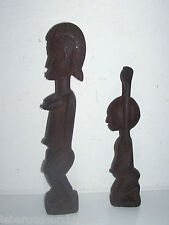 2 Anciennes petites statues. 2 Old small statue afrique