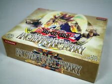 Yugioh Ancient Sanctuary Booster Box AST Unlimited Factory Sealed 24 Packs Mint
