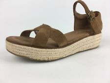240ae8184d8 Toms Harper Casual Shoe - Women s Size 9.5 Tan Beige Wedge Sandals