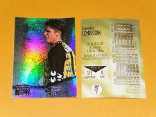 FRANCOIS LEMASSON AS CANNES LA BOCCA FOOTBALL CARD PANINI 1996-1997