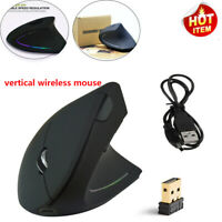 Wireless Shark Fin Ergonomic Vertical Gaming Mouse Optical Mice for PC Laptop