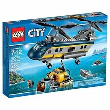 60093 DEEP SEA EXPLORERS HELICOPTER lego NEW town CITY legos set ocean sealed