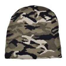 URBAN CAMO BEANIE WATCH CAP SKI WINTER HAT NEW MAZ ARMY MILITARY CAMOUFLAGE